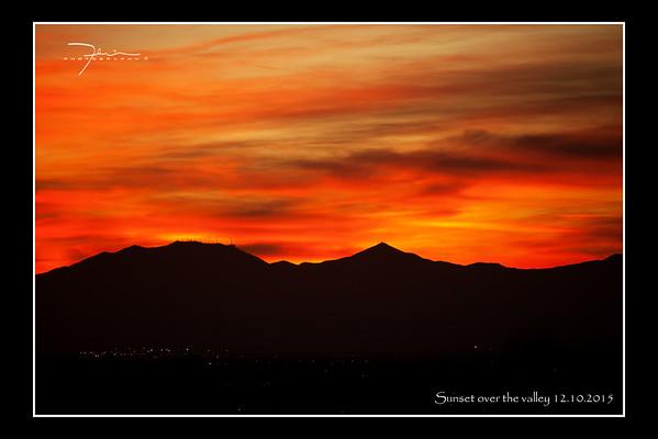 Sunset 12.10.2015
