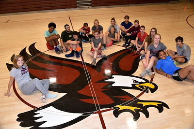 This Eagle Is Ready To Fly…AMHS Gym Is Open For Business photos by Gary Baker