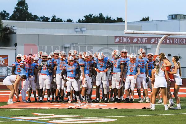 Olympia Titans @ Boone Braves Varsity Football - 2019