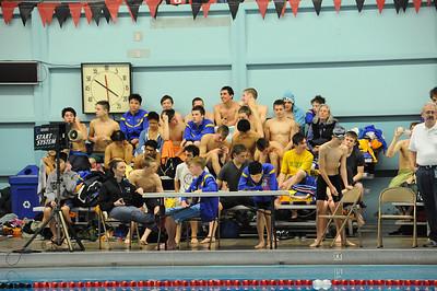 Michael CWU Swim Meet