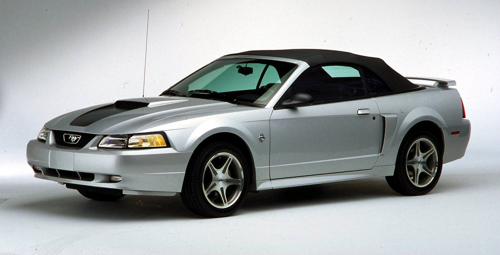 . The Newly Designed 35Th 1999 Anniversary Edition Ford Mustang.  (Photo By Getty Images)