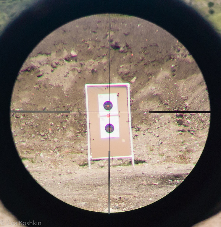 Reticle at High Magnification