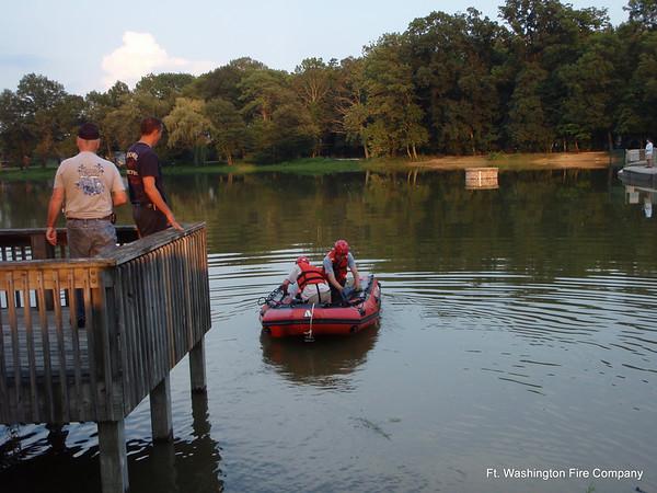 Boat Drill - July 27, 2008