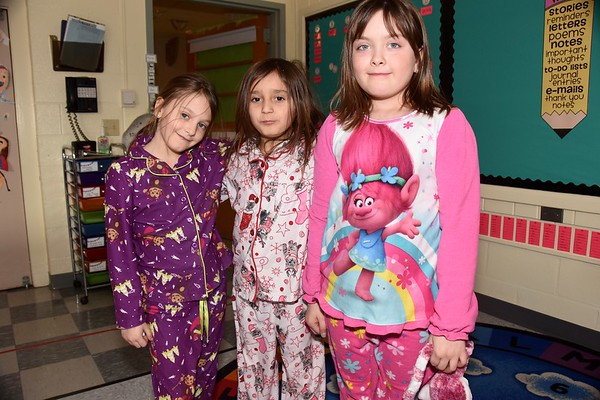 Second Grade PJ Day photos by Gary Baker