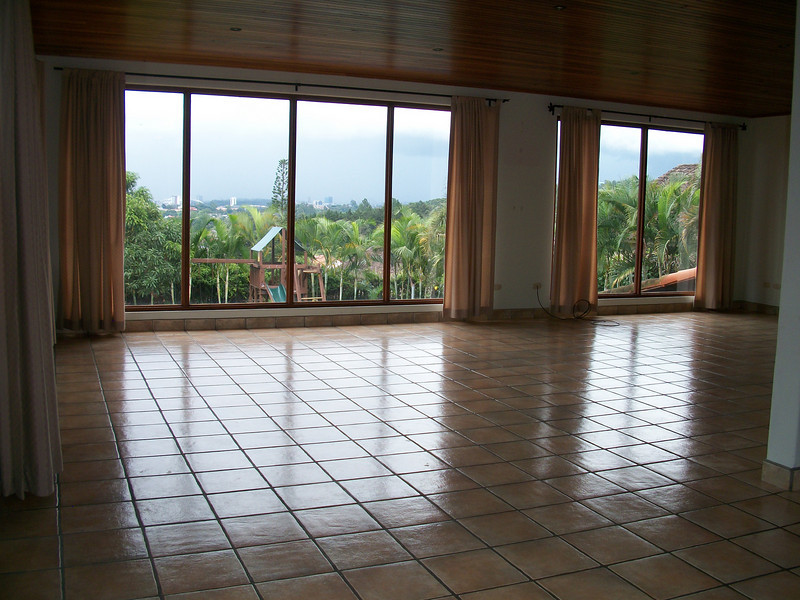 Grand Room with SPECTACULAR VIEW of the Central Valley facing North.    Do you have children?  The play set can be available