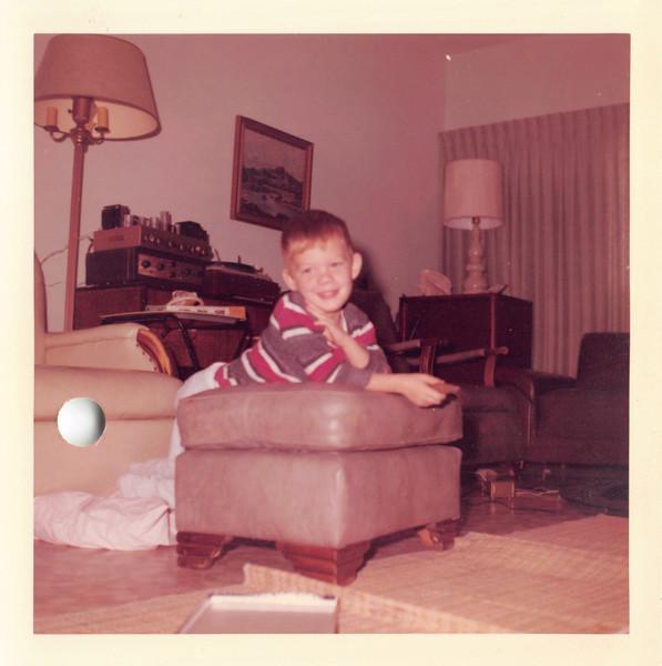 Jeff Dec 1962. Jeff had scarlet fever
