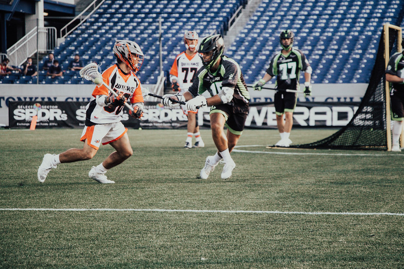 7/21/2020; Annapolis, MD, USA; Lizards vs Outlaws - at Navy Marine Corps Memorial Stadium. Mandatory Photography Credit: Jamal Cooley