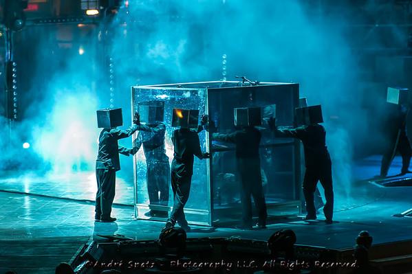 The Pixel Frontier, By Cirque du Soleil. Quebec City, August 2012