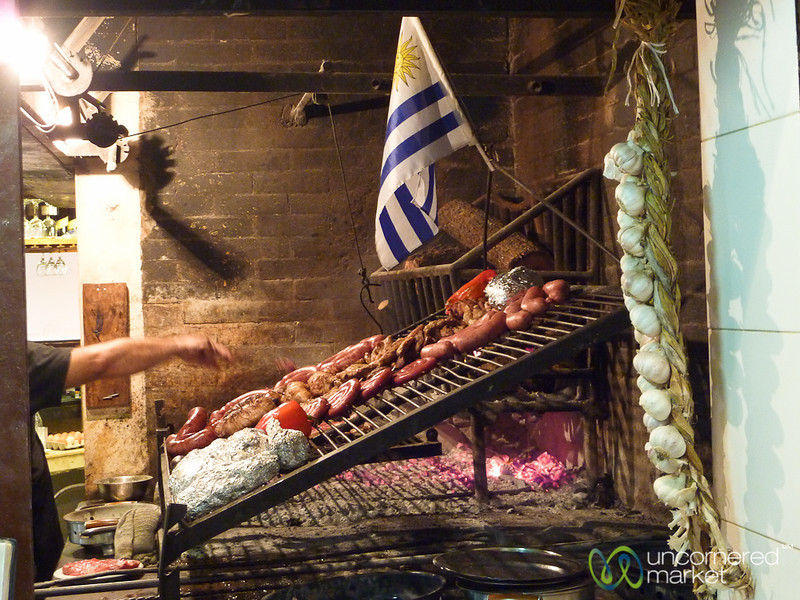 Preparing the Grill - Montevideo, Uruguay