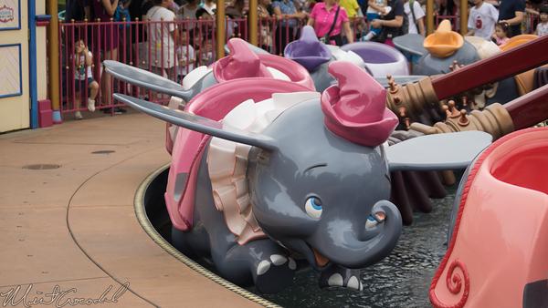 Disneyland Resort, Hong Kong Disneyland, Fantasyland, Dumbo