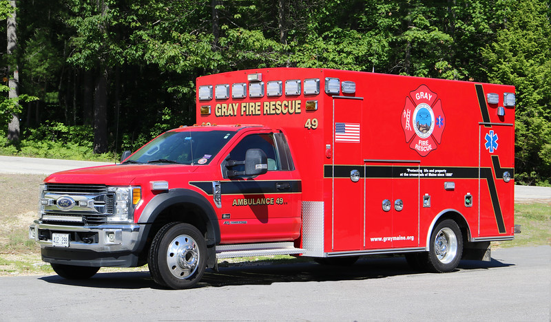 Ambulance 49.  2016 Ford F-450 / Braun