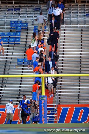 Florida Gators Football Gator Walk - LSU Tigers 10-14-2014