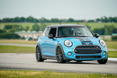Blue/Black Mini Cooper S