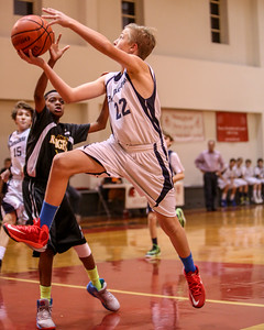 Dec 5 - BBall - Boys 7th Gr Gold vs St Joseph