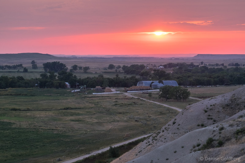 ghost town, in the town of Scenic, South Dakota