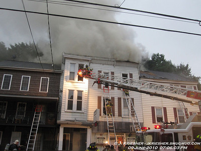 Schuylkill County - Pine Grove Borough - 2 Alarm WSF - 6/9/2010