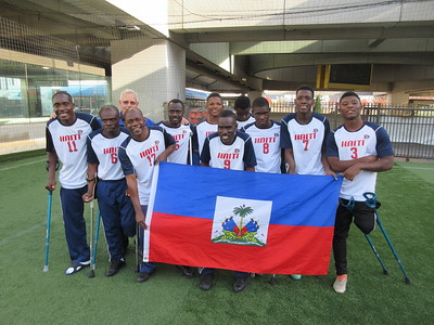 Haitian Soccer Team at 5 Points Soccer in the Street  12.3.17