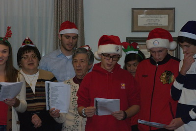 Community Life - Christmas Caroling at Sisters of Divine Providence - December 10, 2014