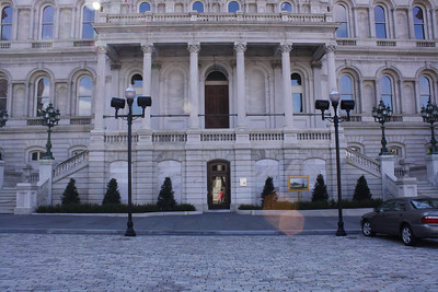 Exterior Baltimore City Hall