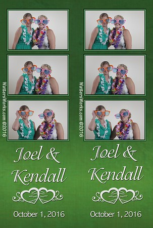 Kendall & Joel Photo Booth