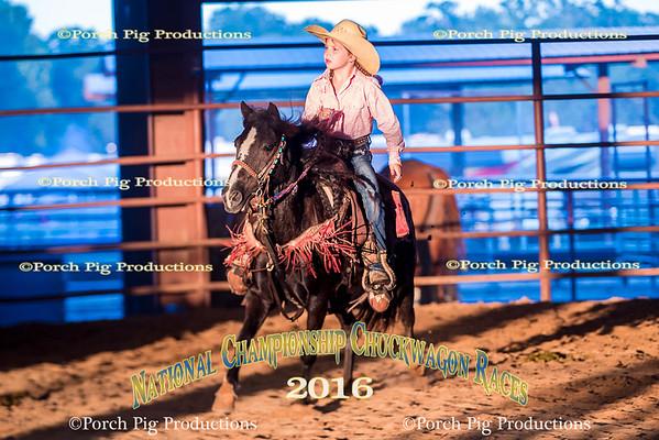 2016 Kids Rodeo National Championship Chuckwagon Races