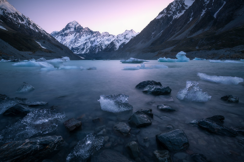 Frozen in the Sun || Hooker Lake