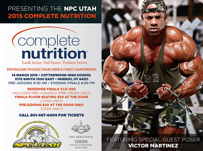 2015 NPC Utah Complete Nutrition Championships