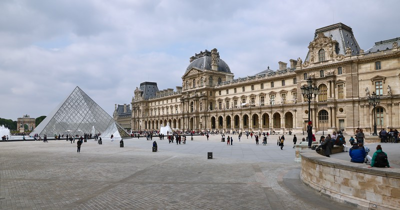 The Louvre - the world's largest art museum