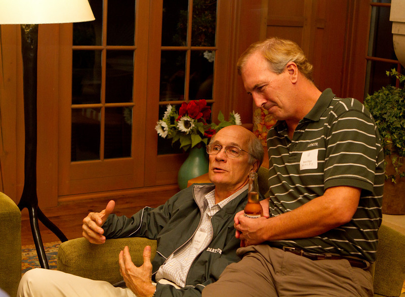 Dick Wenzel '71 P14 and Brent Bilger '80 P'11 P'13