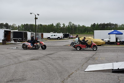 Harley Pits and Staging Lanes