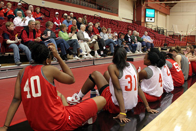 Red-White Scrimmage (October 25, 2008)