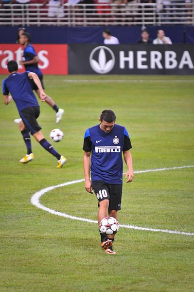 Real Madrid vs Inter Milan 8/10/13