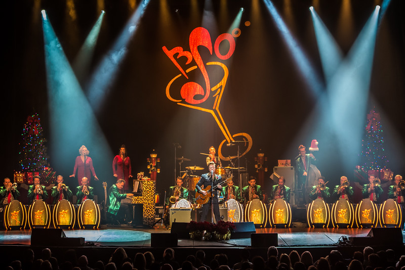 The Brian Setzer Orchestra's 15th Anniversary Christmas Rocks! Tour