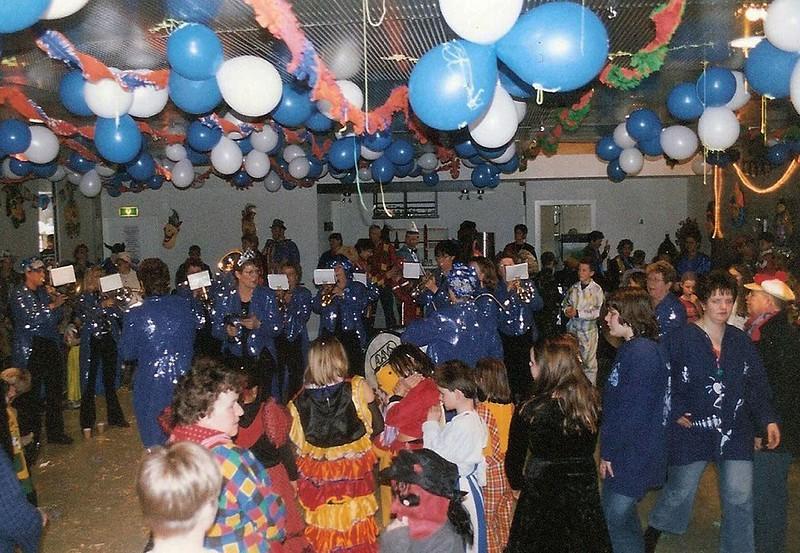 Kindercarnaval bij de Vrolijke Heikneuters