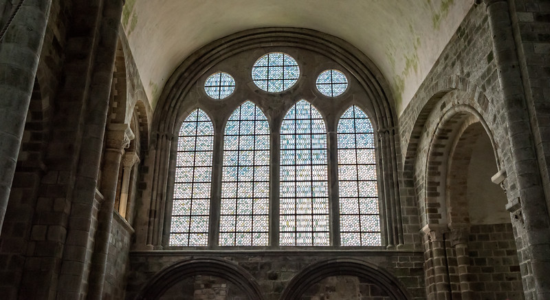 Transept window