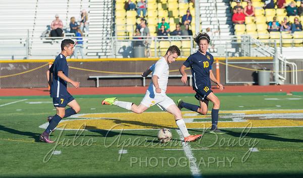 170926 NBHS Boys Soccer vs Brookings Harbor