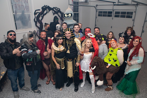Casanova Remodeling Halloween Party 2020 - Photos for Printing