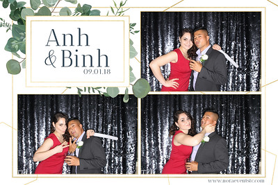 Anh & Binh (photo strips)