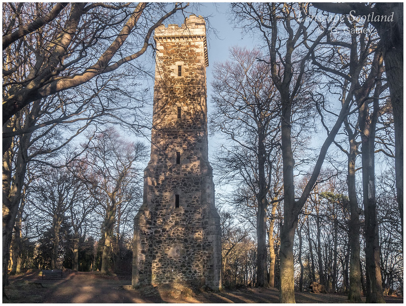 Clermiston Tower, Corstorphine Hill