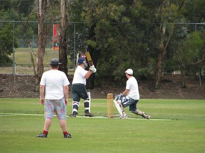Kev's Bucks Cricket Match, 03012009