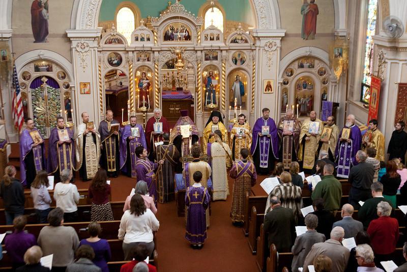 Orthodoxy Sunday Vespers 2011