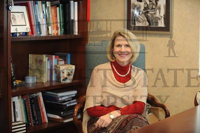 12980 Rosalie Mainous in her office 1-22-14