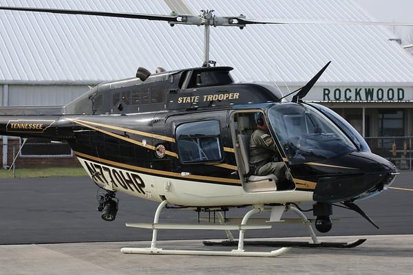 "Tennessee Highway Patrol 2007 Bell 206B ""Jet Ranger"", Rockwood, 22Mar21"