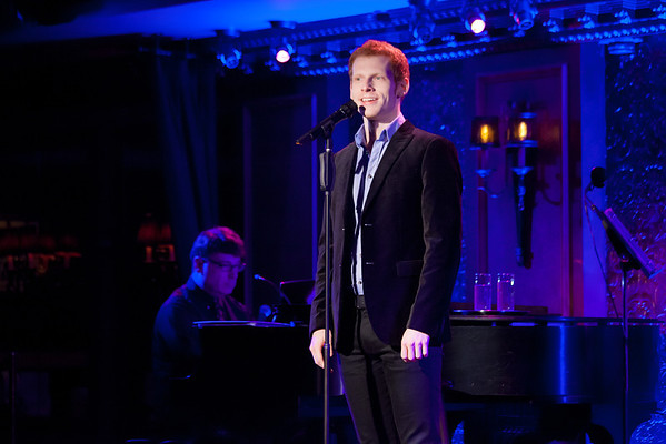Alexis Fishman at 54 Below with Max Chernin