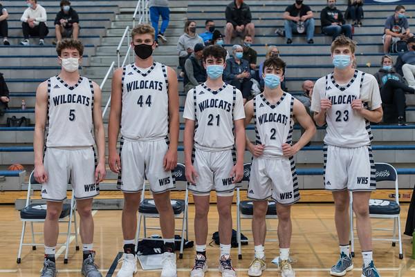 2021 Boys Varsity Basketball vs. Ida B Wells