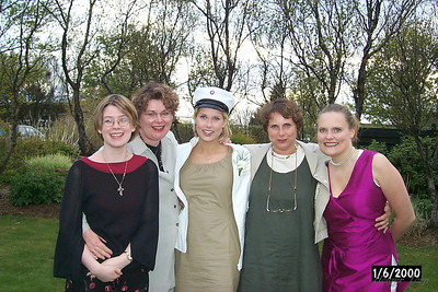 Hanna stúdent  júní 2000