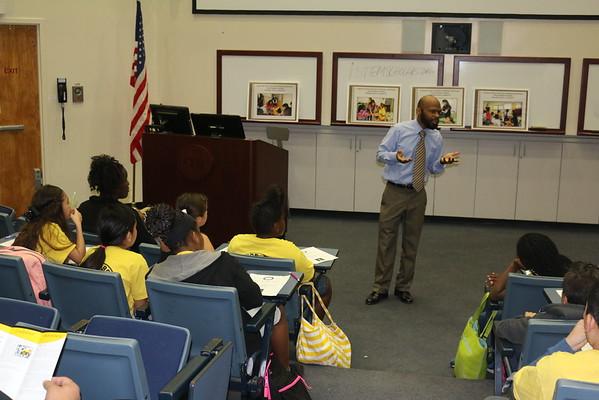Career Day Sierra Elementary from Perris-CA