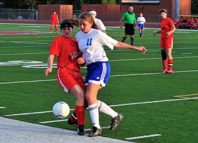 Arcadia JV Soccer VS Mingus 11-30-12