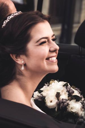 llegada novia
