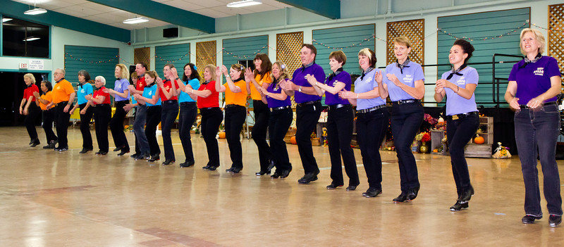 Redwood Country Cloggers' performance  at Late Harvest Stomp